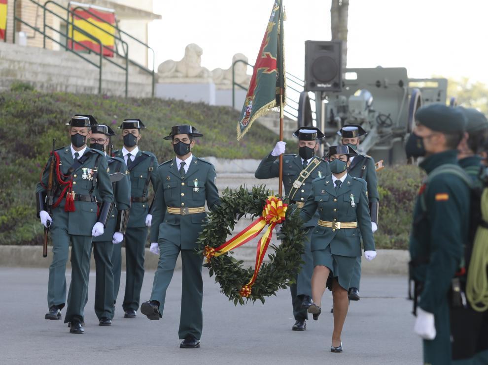 La Guardia Civil ha vuelto a celebrar el día de su patrona, la Virgen del Pilar.