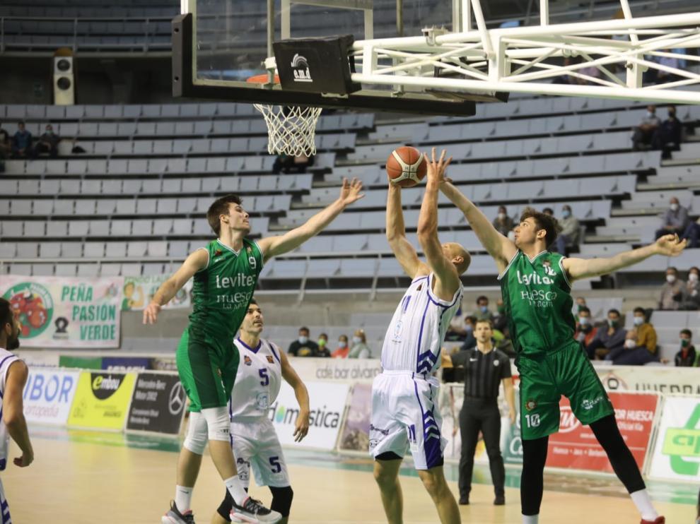 El Levitec Huesca ha perdido ante el Almansa.