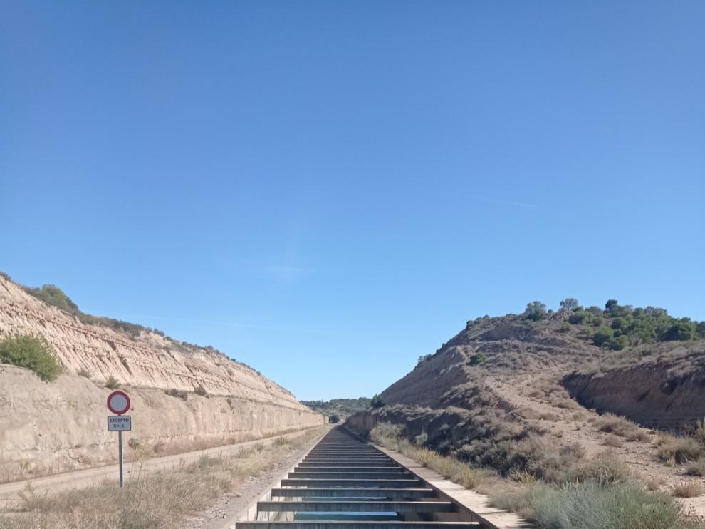 Canal de Monegros.