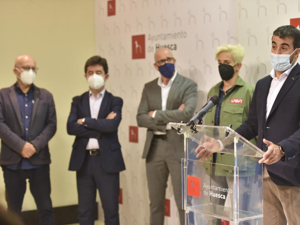 José María Mur, presidente de la Asociación Nereu, ha detallado el proyecto.