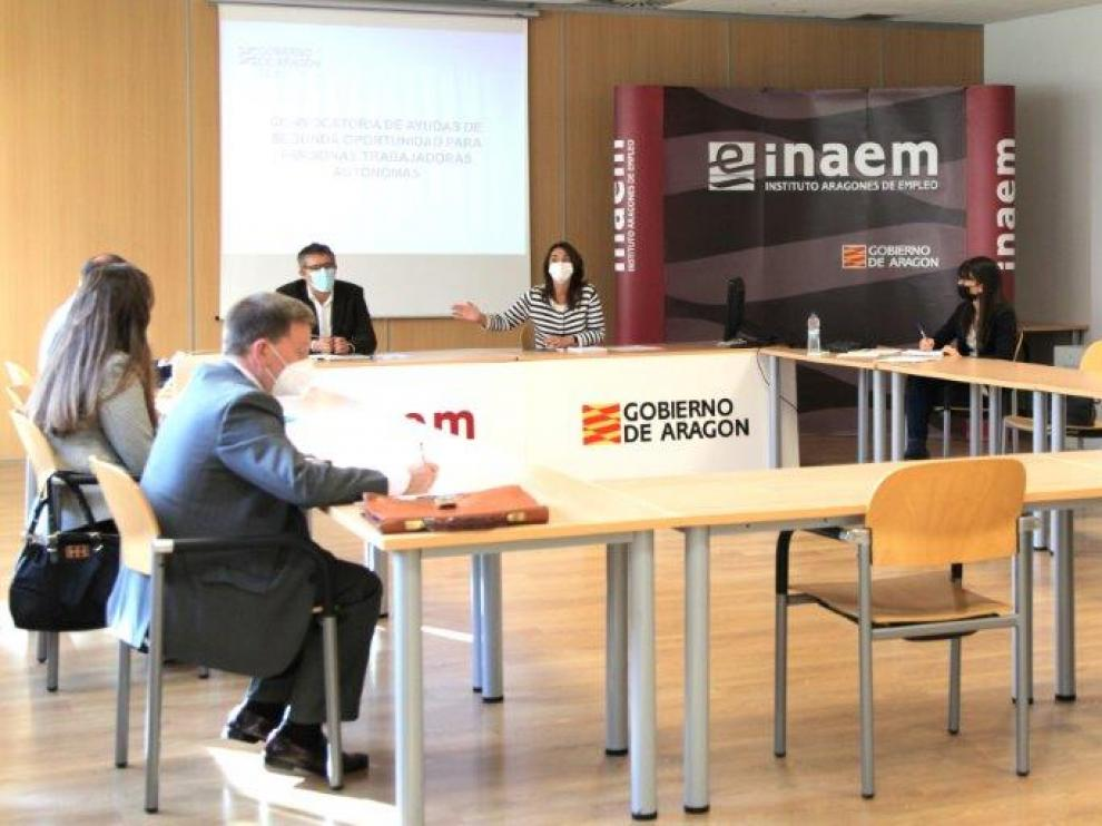 Última reunión del Consejo Aragonés del Trabajo Autónomo.