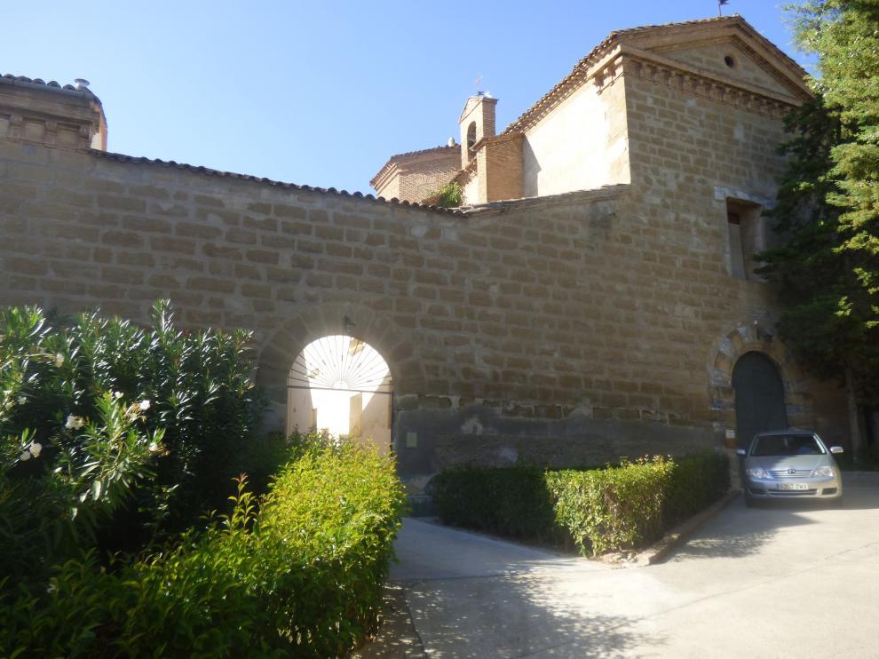 Convento de las Capuchinas en Barbastro.