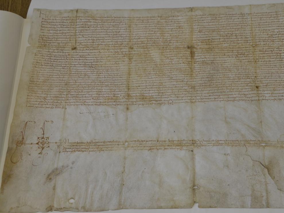 Los galardonadors recibirán una réplica del pergamino de la reina Germana de Foix.